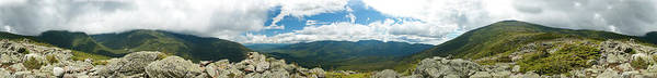 Photograph - White Mountains Pano by Sebastian Musial