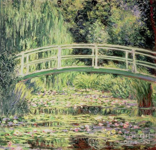 Giverny Painting - White Nenuphars by Claude Monet