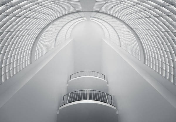 Staircase Wall Art - Photograph - White by Nico T