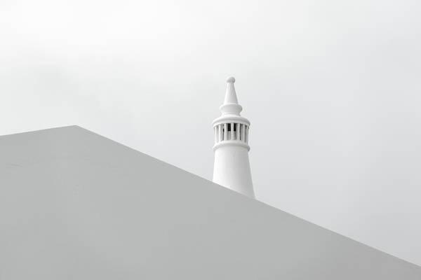 Chimnies Photograph - White On White Simplicity - by Georgia Mizuleva