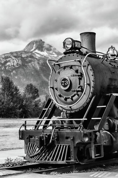 White Pass Railway Engine 73 Art Print
