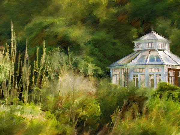Painting - Pavillon by Lutz Baar