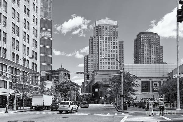 Photograph - White Plains New York Skyline II by Clarence Holmes