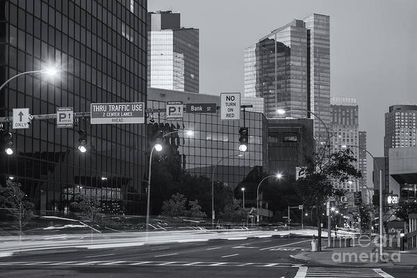 Photograph - White Plains Traffic At Twilight II by Clarence Holmes
