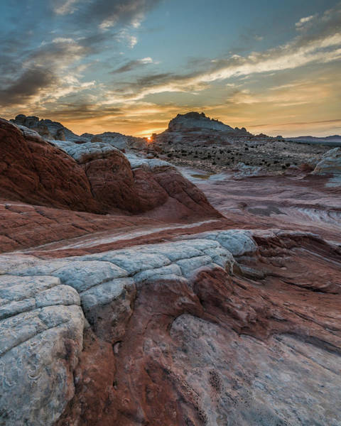 Photograph - White Pocket Sunset by Chuck Jason