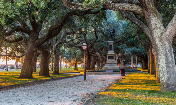 Photograph - White Point Garden Historic Charleston by Donnie Whitaker