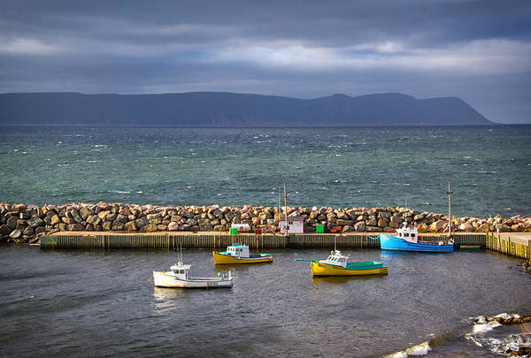 Cabot Trail Photograph - White Point Harbour by Carolyn Derstine