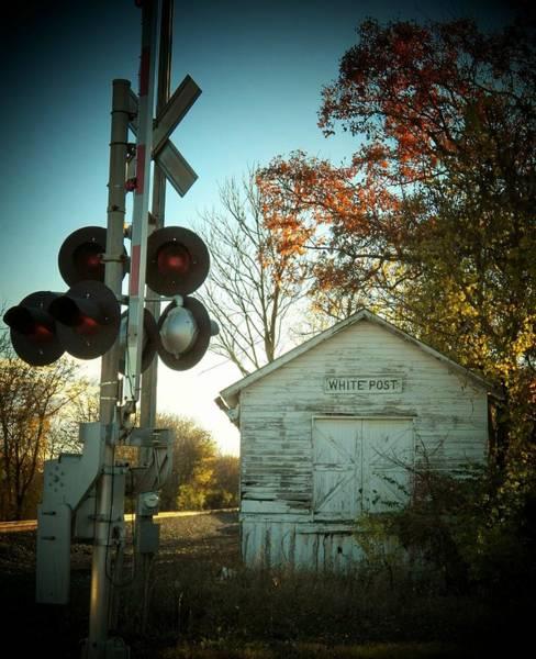 Wall Art - Photograph - White Post Station by Joyce Kimble Smith