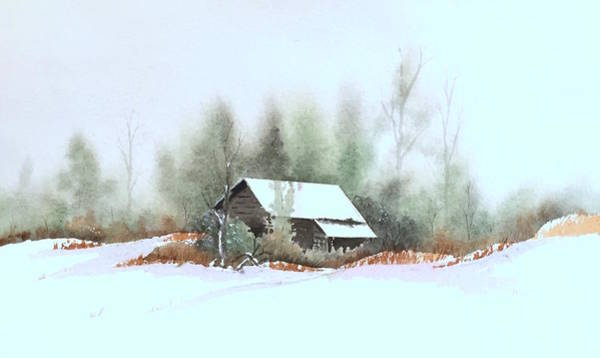 Painting - White Roof by William Renzulli