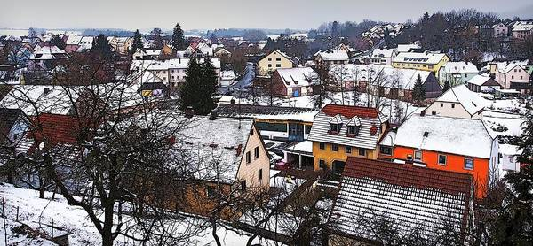 Photograph - White Rooftops In Bavaria by Tatiana Travelways