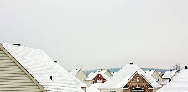 Photograph - White Rooftops In Canada by Tatiana Travelways