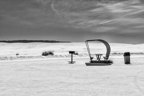 Photograph - White Sands National Monument #9 by Lou Novick