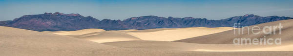 Wall Art - Photograph - White Sands National Monument Pano by Jerry Fornarotto