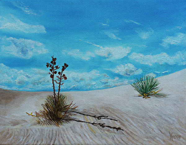 Painting - White Sands New Mexico by Kathy Knopp