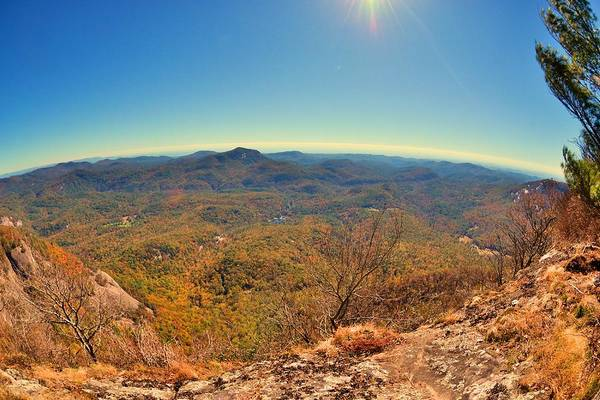 Photograph - White Side Mountain In Autumn by Lisa Wooten