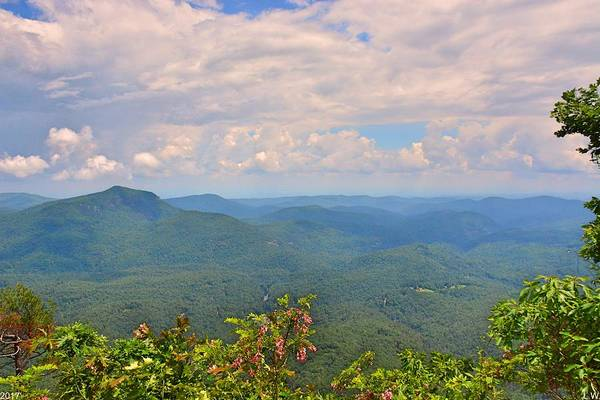 Photograph - White Side Mountain by Lisa Wooten