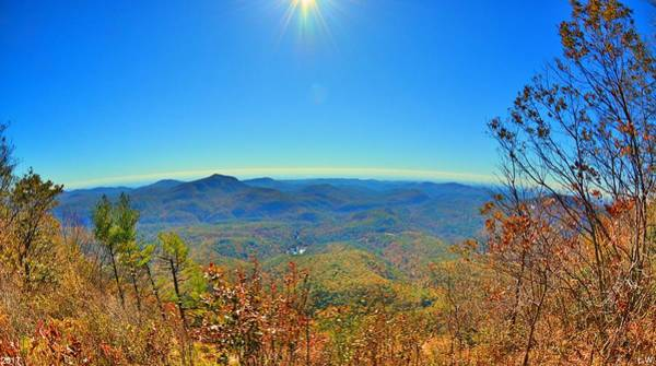 Photograph - White Side Mountain Nantahala National Forest In Autumn by Lisa Wooten