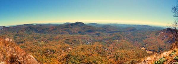 Photograph - White Side Mountain Panorama by Lisa Wooten