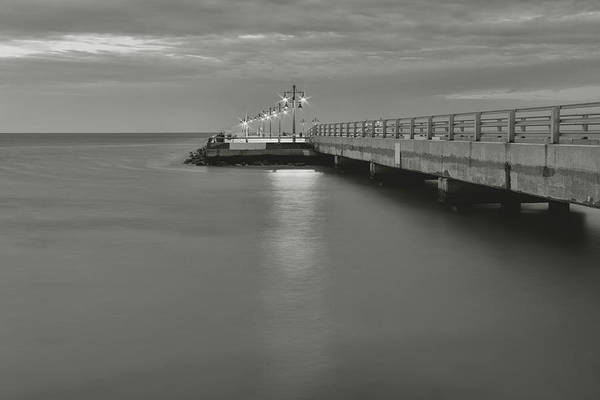 Photograph - White Street Pier - Key West by Kim Hojnacki
