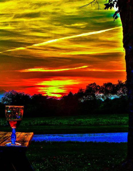 Photograph - White Sunset by Jeff Kurtz