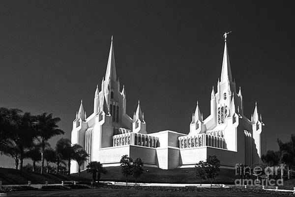 Photograph - White Temple On The Hill by Paul W Faust -  Impressions of Light