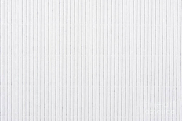 White Texture Striped Carton Abstract Art Print