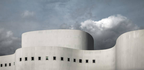 Theatres Wall Art - Photograph - White Theater by Gilbert Claes