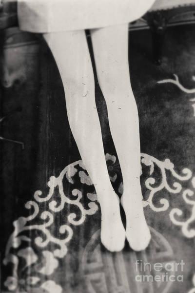 Photograph - White Tights by Andrey  Godyaykin