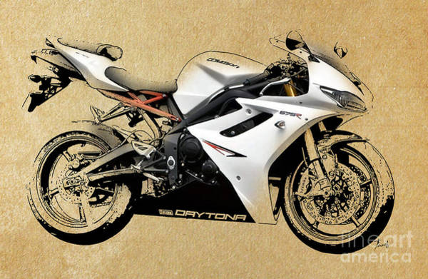 Wall Art - Drawing - White Triumph by Drawspots Illustrations