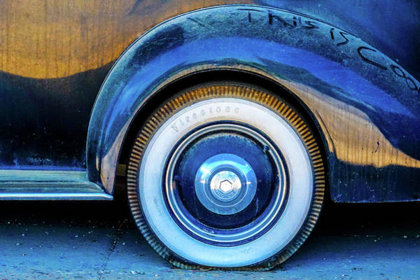 Photograph - White Wall Tire by Tom and Pat Cory