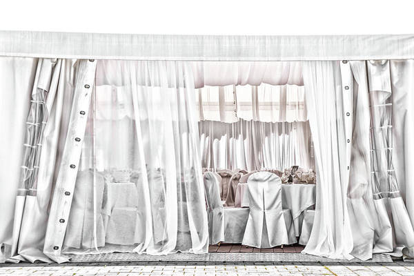 Wall Art - Photograph - White Wedding Day by Rabiri Us