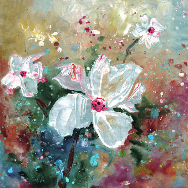 Painting - White Wonders by Miki De Goodaboom