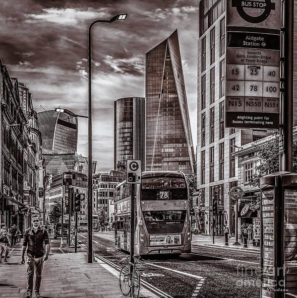 Photograph - Whitechapel, London. by Nigel Dudson