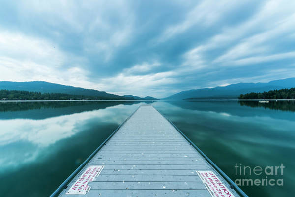 Wall Art - Photograph - Whitefish Lake by Twenty Two North Photography