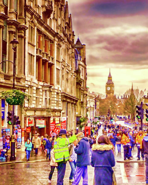 Wall Art - Photograph - Whitehall New Year by Sharon Lisa Clarke