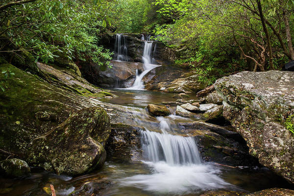 Photograph - Whiteoak Creek Falls by Chris Berrier