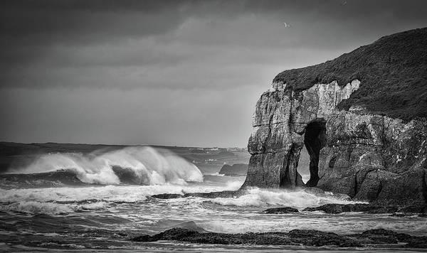 Wall Art - Photograph - Whiterocks Waves by Nigel R Bell