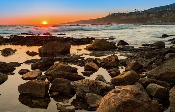 Photograph - White's Point Sunset 2 by Ed Clark