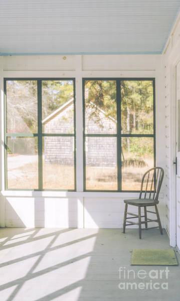 Photograph - Whitesbog Village Porch by Debra Fedchin