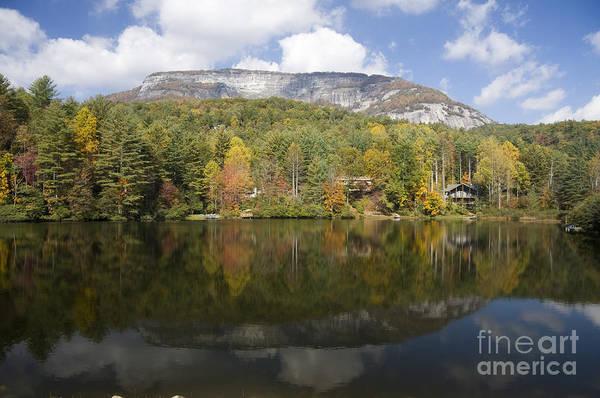 Photograph - Whiteside Mountain Lake Reflections by Jill Lang