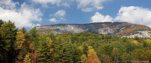Photograph - Whiteside Mountain Panorama by Jill Lang