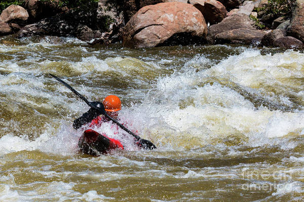 Photograph - Whitewater In The Numbers by Steve Krull