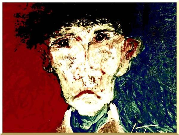 Painting - Who Am I   1b by Teodoro De La Santa