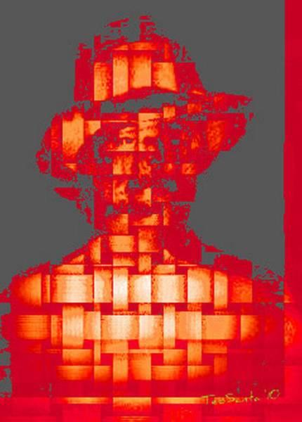 Digital Art - Who Am I   No. 5 by Teodoro De La Santa