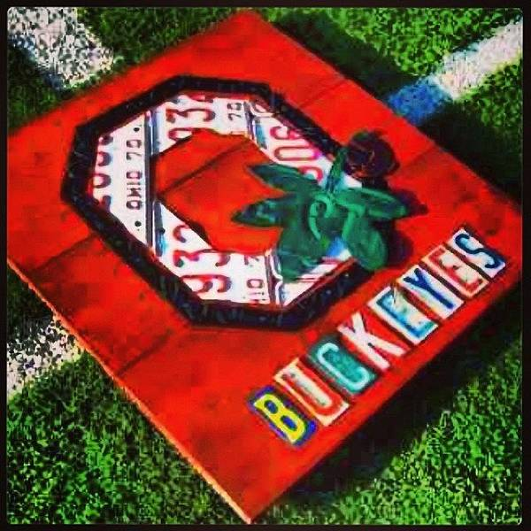 Sport Wall Art - Photograph - Who Are You Rooting For Tonight?  #osu by Design Turnpike