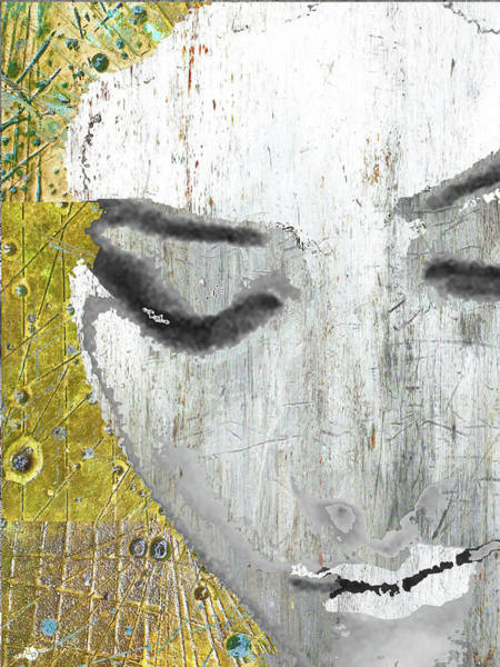 Mixed Media - Who Is She by Tony Rubino