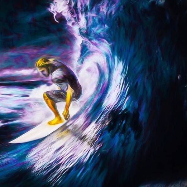 Wall Art - Photograph - Who Likes To #surf. #surfing Is #fun by David Haskett II