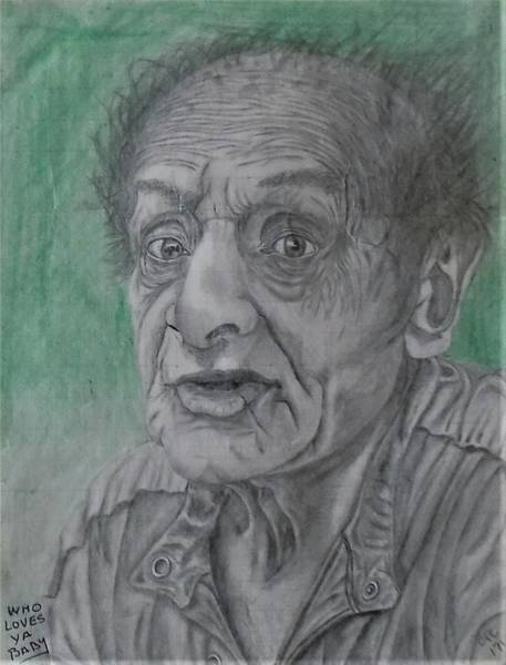 Drawing - Who Loves Ya Baby by Chuck Caputo