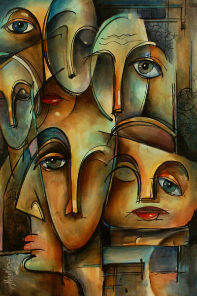 Wall Art - Painting - WHO by Michael Lang