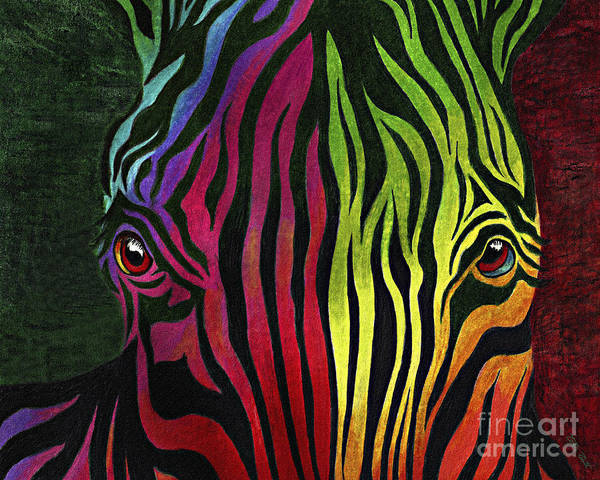 Neon Pink Painting - What Are You Looking At by Peter Piatt